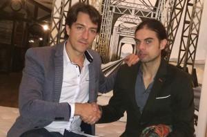 Fernando Pena y Raúl Rivero